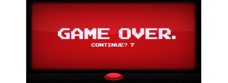 game over - serious game